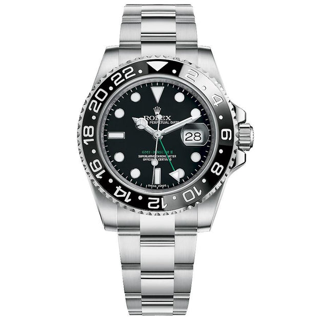 Rolex GMT-Master II 40mm 116710LN Black Dial-First Class Timepieces