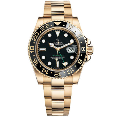 Rolex GMT-Master II 40mm 116718 Black Dial-First Class Timepieces