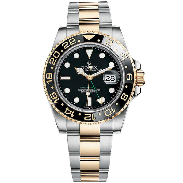 Rolex GMT-Master II 40mm 126713LN Black Dial-First Class Timepieces