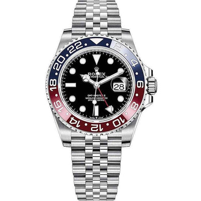 "Rolex GMT-Master II ""Pepsi"" 40mm 126710BLRO Black Dial-First Class Timepieces"