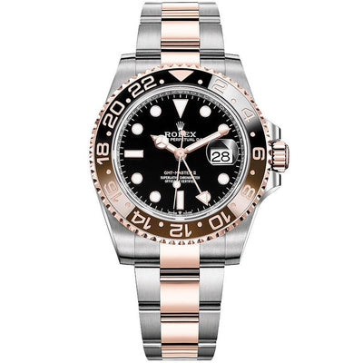 "Rolex GMT-Master II ""Rootbeer"" 40mm 126711CHNR Black Dial-First Class Timepieces"