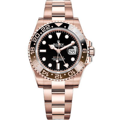 "Rolex GMT-Master II ""Rootbeer"" 40mm 126715CHNR Black Dial-First Class Timepieces"