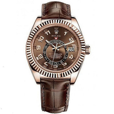Rolex Sky-Dweller 42mm 326135 Brown Dial-First Class Timepieces