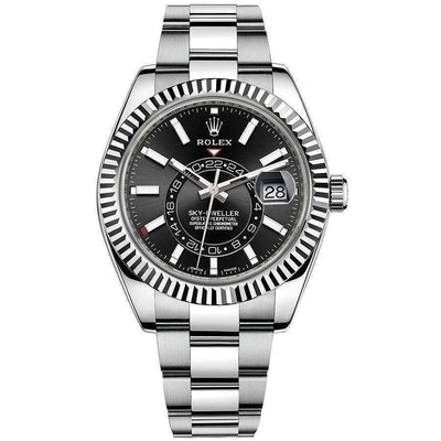 Rolex Sky-Dweller 42mm 326934 Black Dial-First Class Timepieces