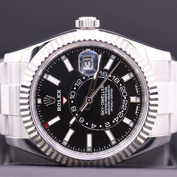 Rolex Sky-Dweller 42mm 326934 Black Dial Pre-Owned-First Class Timepieces