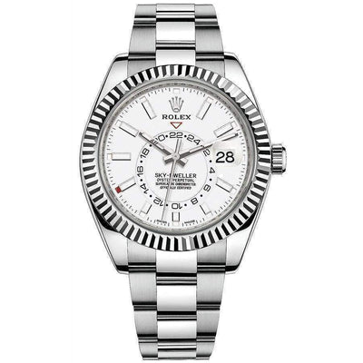 Rolex Sky-Dweller 42mm 326934 White Dial-First Class Timepieces