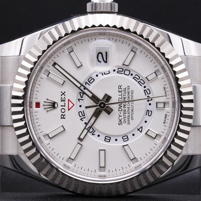 Rolex Sky-Dweller 42mm 326934 White Dial Pre-Owned-First Class Timepieces