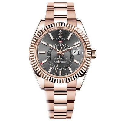Rolex Sky-Dweller 42mm 326935 Rhodium Dial-First Class Timepieces