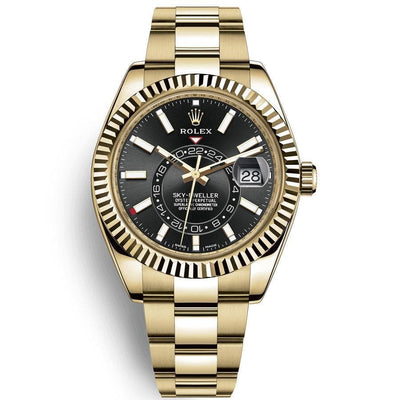 Rolex Sky-Dweller 42mm 326938 Black Dial-First Class Timepieces