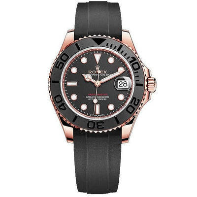 Rolex Yacht-Master 40mm 126655 Black Dial-First Class Timepieces