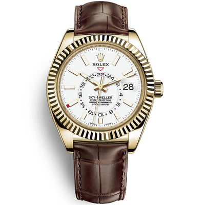 Rolex Sky-Dweller 42mm 326138 White Dial