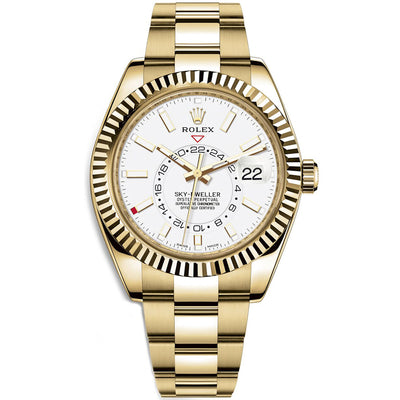 Rolex Sky-Dweller 42mm 326938 White Dial