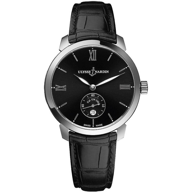 Ulysse Nardin Classico 40mm 3203-136-2/32 Black Dial-First Class Timepieces