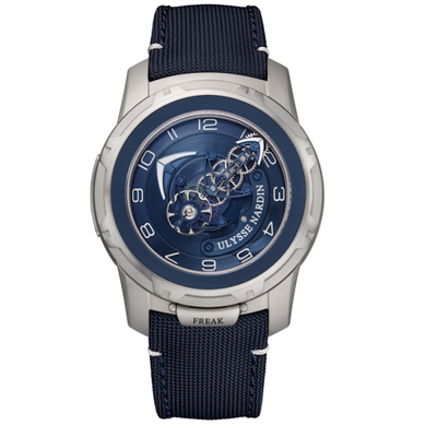 Ulysse Nardin Freak Out Tourbillon 45mm 2053-132/03 Blue Dial-First Class Timepieces
