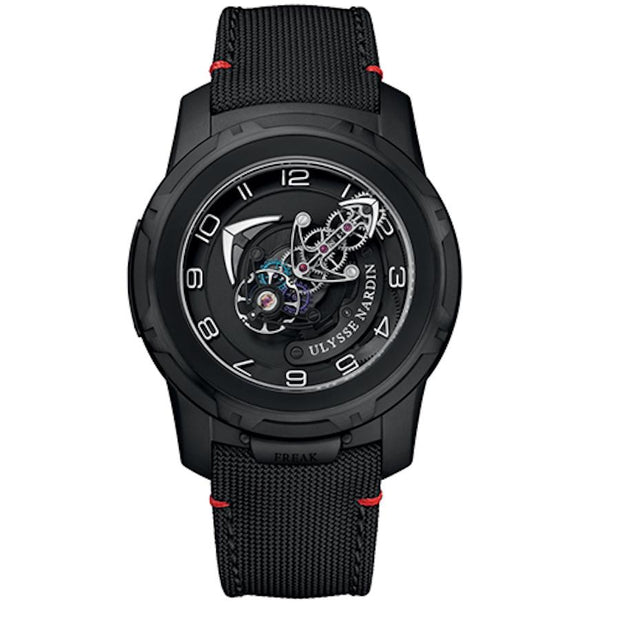 Ulysse Nardin Freak Out Tourbillon 45mm 2053-132/Black-First Class Timepieces