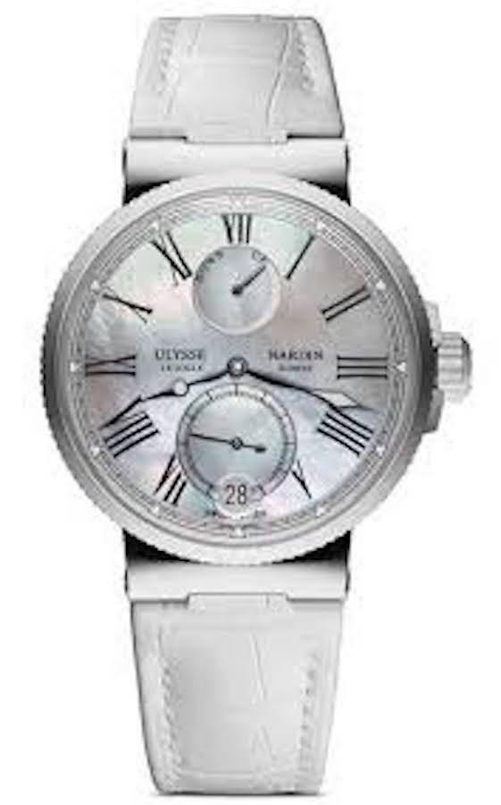 Ulysse Nardin Marine 39mm 1183-160/40 Mother Of Pearl Dial-First Class Timepieces