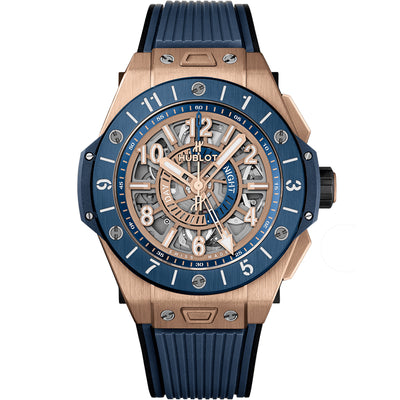 Hublot Big Bang Unico GMT 45mm 471.OL.7128.RX Overworked Dial