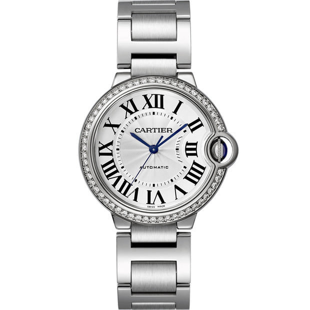 Cartier Ballon Bleu De Cartier 36mm W4BB0017 Silver Dial