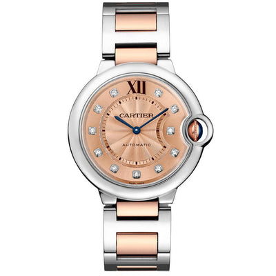 Cartier Ballon Bleu De Cartier 36mm WE902054 Rose Gold Diamond Dial
