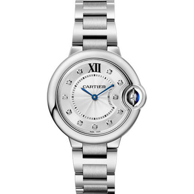 Cartier Ballon Bleu De Cartier 33mm WE902074 Silver Dial