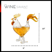 Load image into Gallery viewer, Cock - Chicken Whiskey and Wine Decanter