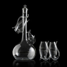 Load image into Gallery viewer, Porto Decanter Set with Port Sippers