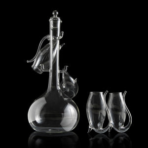 Porto Decanter Set with Port Sippers
