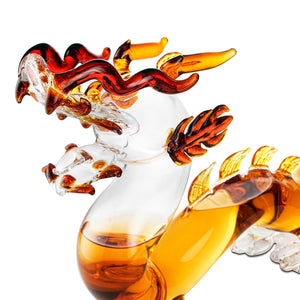 Dragon Whiskey and Wine Decanter