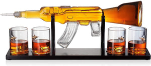 Rifle AR-15 Gun Decanter
