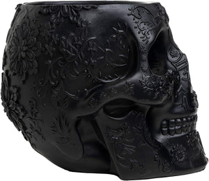 Skull Makeup Brush Holder