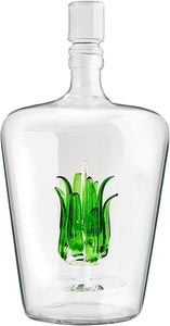 Tequila Decanter With Agave Plant