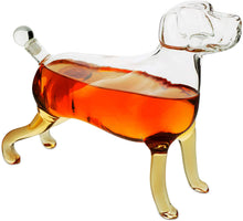 Load image into Gallery viewer, Dog Animal Whiskey and Wine Decanter 500ml