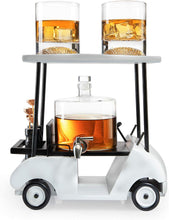 Load image into Gallery viewer, Golf Decanter Whiskey Decanter and Whiskey Glasses