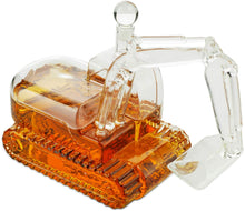 Load image into Gallery viewer, Tractor Whiskey and Wine Decanter Unique Construction Tractor 750ml