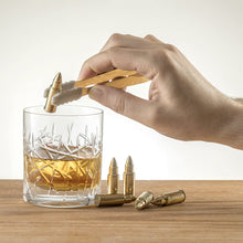 Load image into Gallery viewer, Bullet Whiskey Stones - Gold