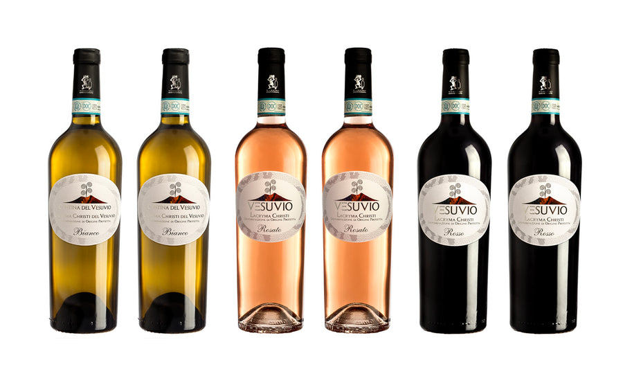 6 Bottles - Mixed Classic Wine