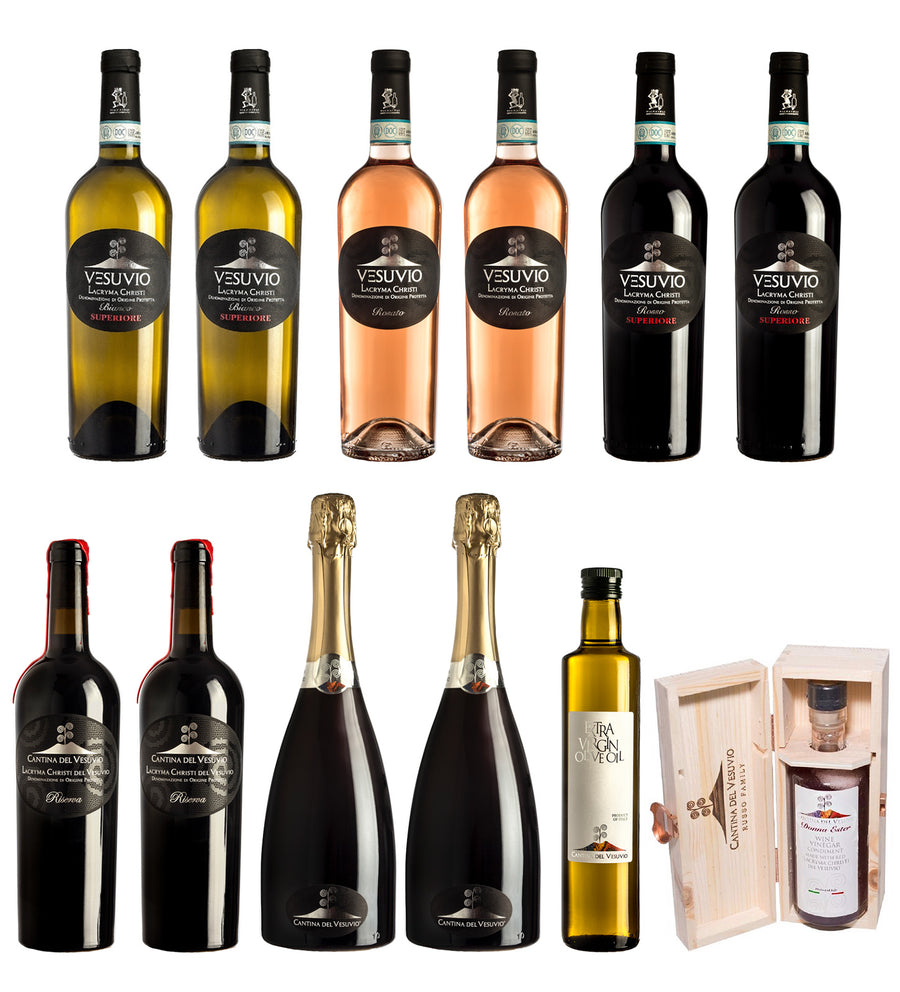 12 Bottles - Superior Wine Best Seller Selection