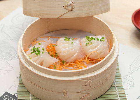 Prawn Har Gow- receta Global Gourmet Colombia