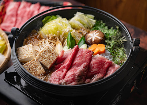 Blog receta Sukiyaki, estofado japonés - Global Gourmet Colombia
