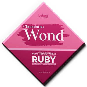 Chocolate Wond Ruby 50 gr