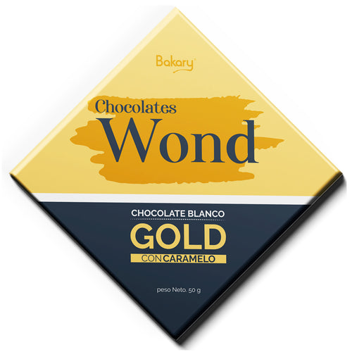 Chocolate Wond Gold con Caramelo 50 gr