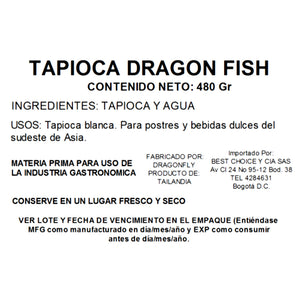 Tapioca Dragon Fish 480 gr