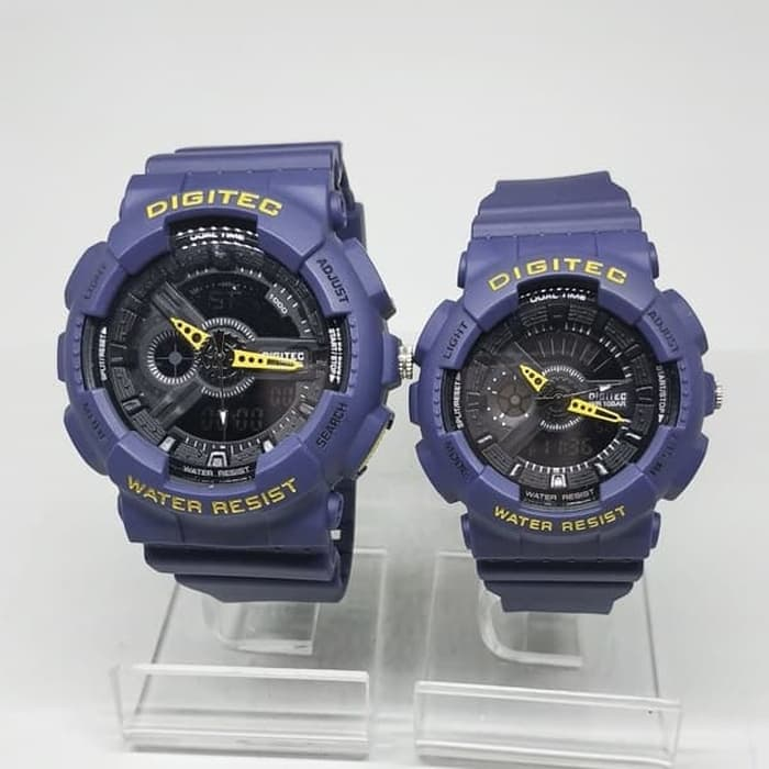 Jam Tangan DIGITEC ORIGINAL COUPLE DG-2063+DG-2020T-06 BIRU