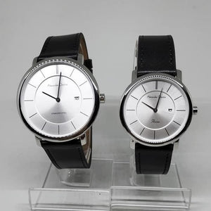 Jam Tangan ALEXANDRE CHRISTIE ORIGINAL COUPLE 8589 SILVER