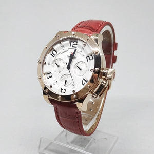 Jam Tangan EXPEDITION ORIGINAL WANITA E-6381 ROSEGOLD MERAH