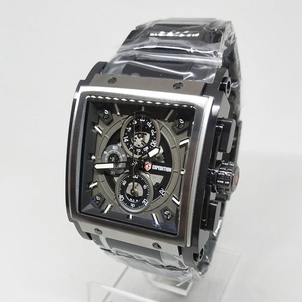 Jam Tangan EXPEDITION ORIGINAL PRIA E-6731 HITAM