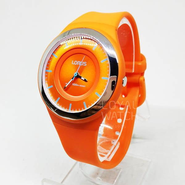 JAM TANGAN LORUS ORIGINAL WANITA LORUS RRX45DX-9 ORANGE