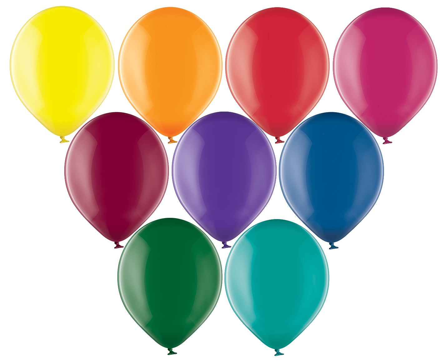 Belbal 12 inch crystal balloons