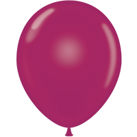 Tuf-tex 14 inch crystal balloons in burgundy