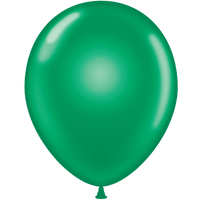 Tuf-tex 14 inch crystal balloons in green